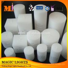 Оптовая Белый Декоративные Свечи Принятия Поставки