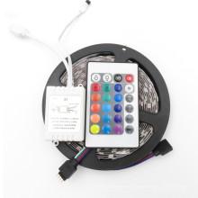 пульт дистанционного управления 12V 5M 300 светодиодов SMD 2835 3528 диод лента RGB и один цвет светодиодная лента гибкая светодиодная лента