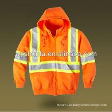 Sudaderas con capucha de seguridad naranja