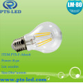 A60 4W 5W 6W 7W 8W 9W Filament ampoule LED Dimmable et Non-Dimmable