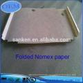 Präzisions-Stanzschnittgefaltetes Nomex-Isolierpapier T410 für Elektronik