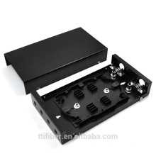4 portas ST / FC parede caixa de distribuição de fibra montada