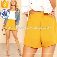 Elasticized Waist Wide Leg ShortsManufacture Wholesale Fashion Women Apparel (TA3007B)