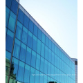 Frameless Tempered Laminated Glass Curtain Wall for Building