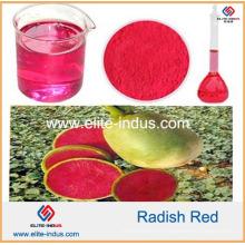 Couleur naturelle de radiant de colorant de nourriture rouge