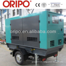 Enclosed trailer 110kva standby power by 6BT5.9-G2 Cummins engine