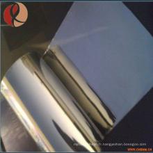 Bande de Zirconium Pure / Zirconium