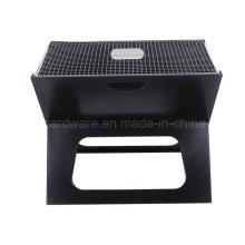 Folding Grill / churrasqueira X-Style Carvão para churrasco (SE987)