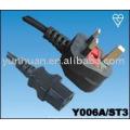 Продать питания кабель набор сделаны в Китае - Iec C13 C14, евро удлинитель, евро кабель для свечей, вилка c13-UK, Великобритания вилка - C7