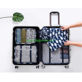 Packing Cube- Durable 6 Piece Compression Travel Luggage Organizer-Clothes Storage Bag-Travel Pouch Laundry Bag