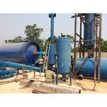 Salida de aceite del equipo de la pirólisis del neumático de coche de la basura de la alta calidad el 50% reactor de pirólisis plástico .waste