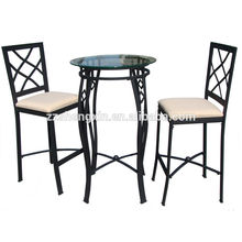 Muebles de comedor mesa de comedor de vidrio templado mesa de comedor