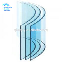 safety bent tempered glass for building