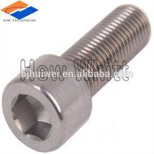 GR5 titanium hex socket cap bolt