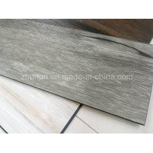 Plancher de feuille de vinyle de grain de bois