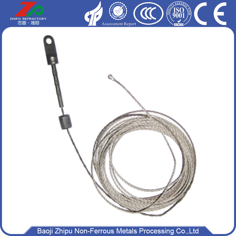 Tungsten Rope for Lifting Flexible Shaft