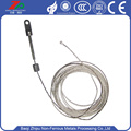 7x19 flexible tungsten wire rope