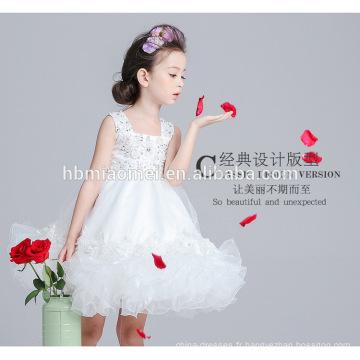 Eleggant party wear robe de princesse robe de princesse robe de soirée occidentale 8 ans fille robe design