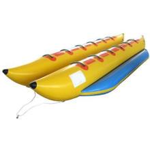 Bateau de banane gonflable de 16 places