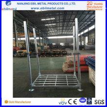 Plataforma de acero galvanizado en caliente con tubo redondo (EBILMETAL-SP)