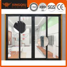 Profilé en aluminium chaud pour les portes / modèles de porte-porte