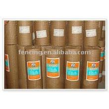 покрынная PVC сваренная ячеистая сеть(фабрика)