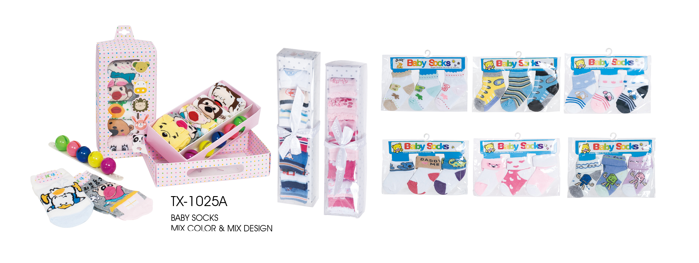 Wonderful Gift Box Packing Socks