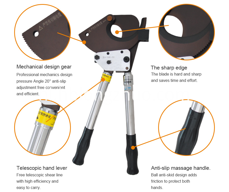 details of cable cutter