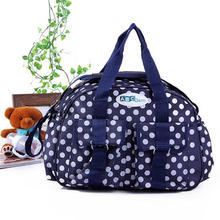 DOT Printing Large Capacity Mommy One Shoulder Bag
