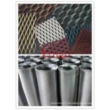 Malla de metal expandido de aluminio