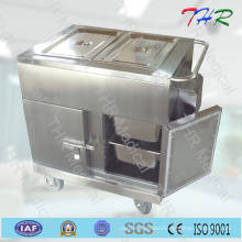 Thr-FC005 Hospital Stainless Steel Dinner Trolley