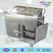 Больничная тележка для ужинов из нержавеющей стали Thr-FC005