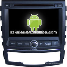 Ssangyong-Korando lecteur multimédia de voiture