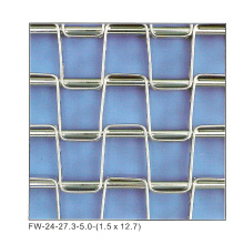Flat Wire Mesh Belt (Stainless Steel 430)