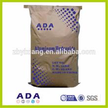 Uso de hidróxido de alumínio