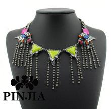Ladies Multilayer Pearl Bib Charm Necklace Fashion Costume Jewelry