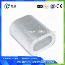 Steel Oval Sleeves For Wire Rope Din3093 Type