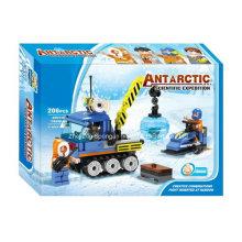 Boutique Baustein Spielzeug-Antarktis Wissenschaftliche Expedition 05 mit 3PC Staff
