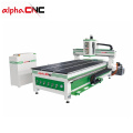 high quality 1300*2500mm vacuum function wood CNC Router