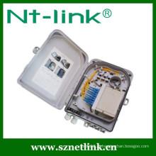 Venda quente 8 núcleo caixa de terminais de fibra óptica