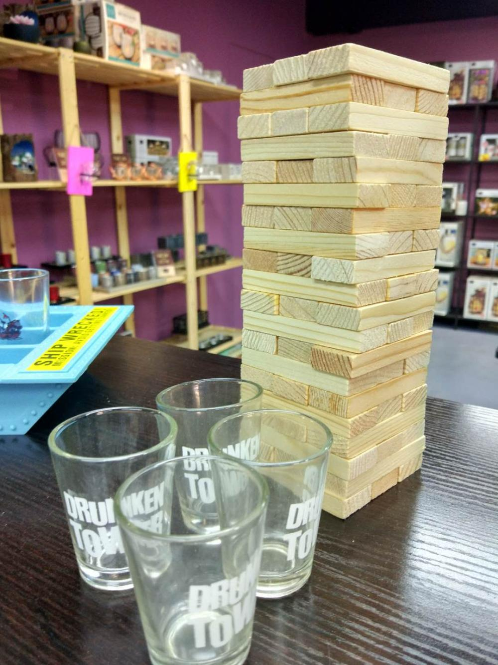 Drinking Tower Blocks