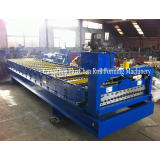 China best supplier Corrugated metal roofing sheet forming machine