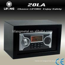 Pequeña caja fuerte electrónica con pantalla LCD y auditoría trail, pequeña caja fuerte digital, caja fuerte pequeña