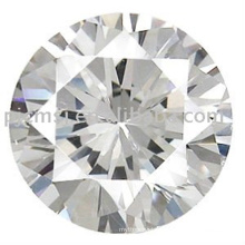 Promotional top quality decorative crystal glass stone diamond shape