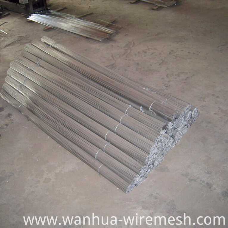 Low carbon steel electric galvanized Straight Cutting Wire (1)