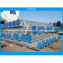 Tubos de aço galvanizado por imersão a quente de tubos de ERW fabricante