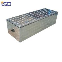 Caja de herramientas de camión de aluminio con tapa única