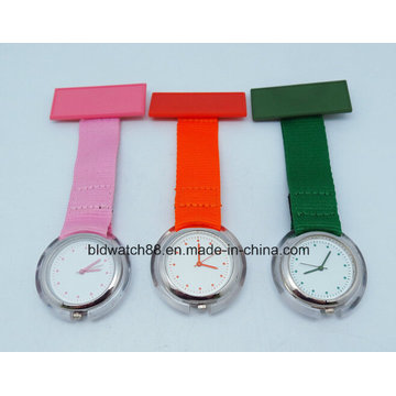 Fabric Type Nurses Watch with Nylon Band