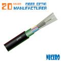 Cable de fibra óptica GYFFY sin blindaje.