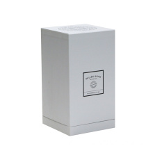 Kustom Dicetak Logo White Parfum Packaging Paper Box